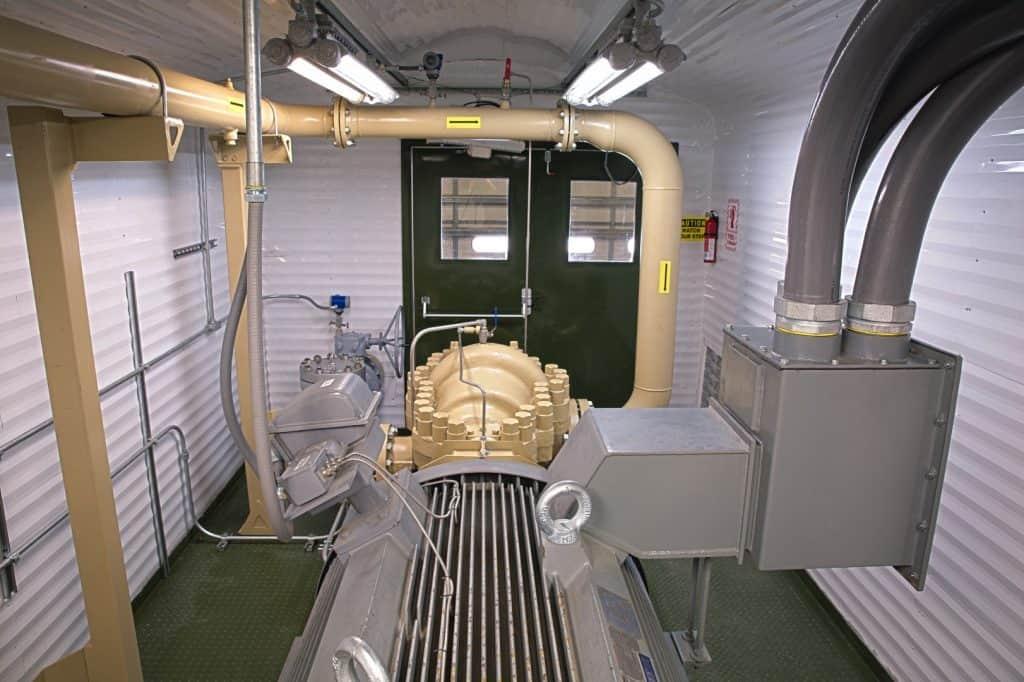 Enclosed Mobile Pump Station