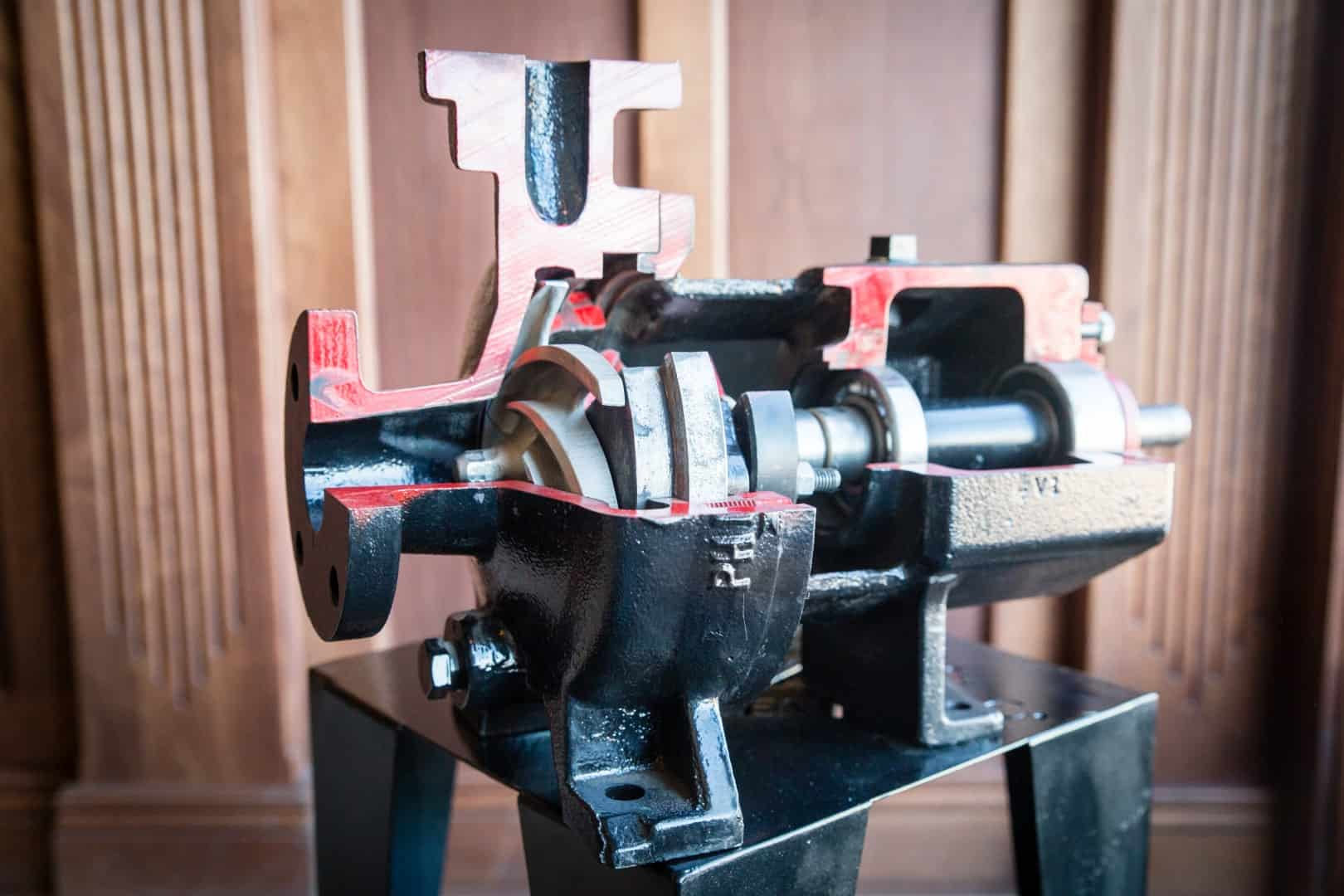 Centrifugal Pump Cut Away