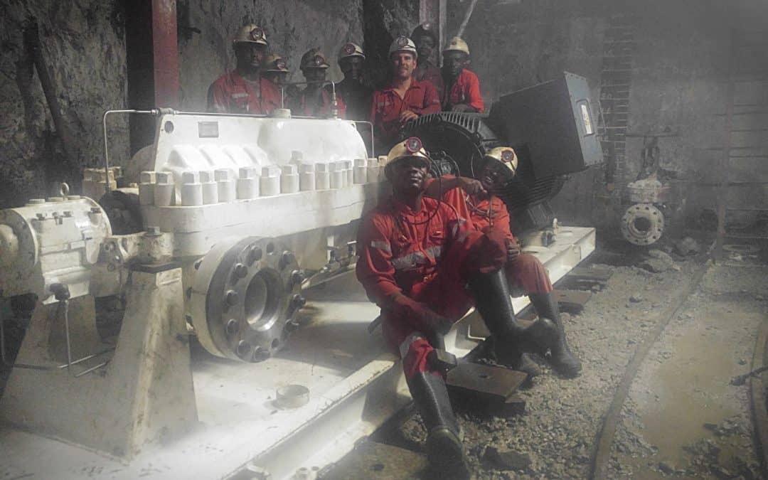 Emergency Dewatering Pump in West Africa