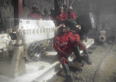 Emergency Dewatering Pump in West Africa