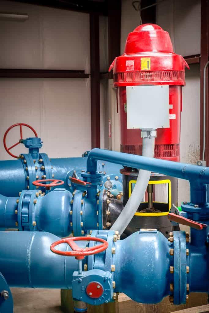 Rebuilt Vertical Turbine Pump