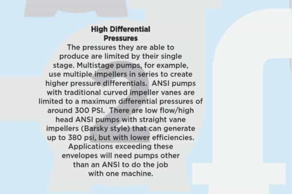 7 reasons not to use an ANSI pump- 2