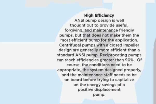 7 reasons not to use an ANSI pump- 3