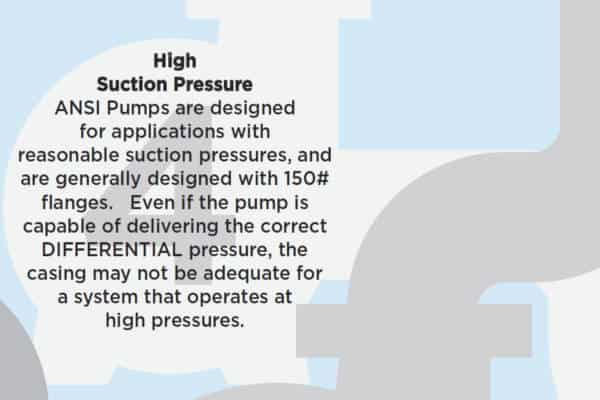 7 reasons not to use an ANSI pump- 4