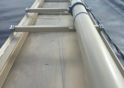 Rail system for easy removal