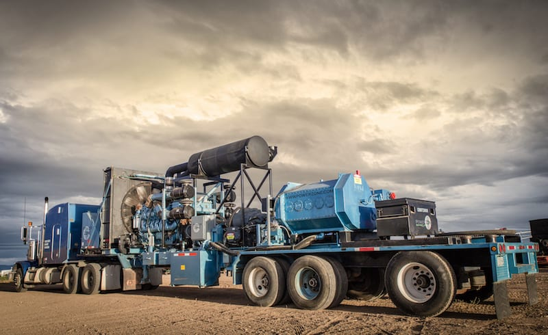 Moving & Managing Water & Oil On Fracking Sites – Centrifugal Pumps & Positive Displacement Quintuplex Pumps