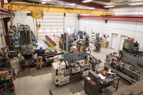 Power Zone's Machine Shop in 2007