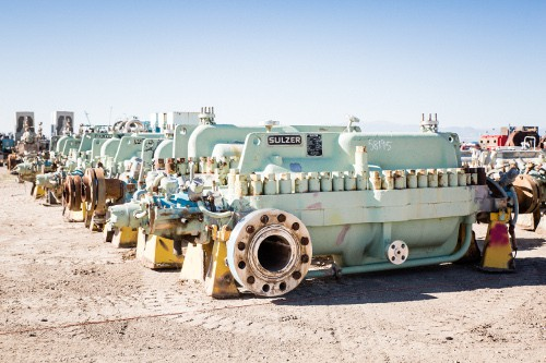 Used Multi-Stage Centrifugal Pumps